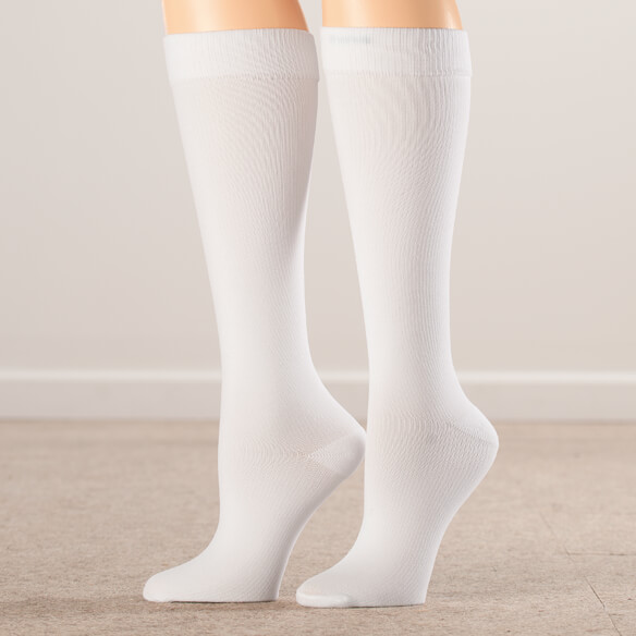 Silver Steps™ Compression Socks 8–15 mmHg, 3 Pair