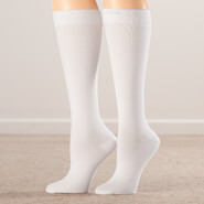 Healthy Steps Hosiery - Silver Steps™ Compression Socks 15-20 mmHg, 3 pair