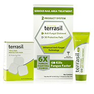 Skin & Wound Care - Terrasil® 2 Product System - Serious Nail Area Treatment