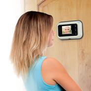Home Safety & Security - Digital Door Peephole