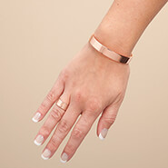 Stress Relief - Copper Magnetic Ring and Bracelet Set