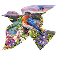 Brain Health - Bird Shaped Puzzle 588 pieces