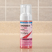Auto & Travel - Shower-To-Go Foaming No Rinse Body Wash, 5 oz.