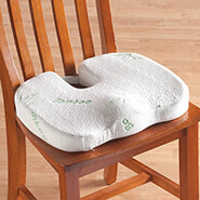Sleep Better, Feel Better - Bamboo Seat Cushion