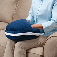 Arthritis Relief & Aids - Plush Warming Pillow with Hot Water Bottle