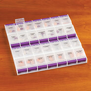 Medicine Storage - Oversized Easy Open Weekly Pill Organizer
