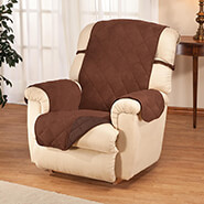 Home Comforts - Naomi Suede-Microfiber Recliner Cover by OakRidge™