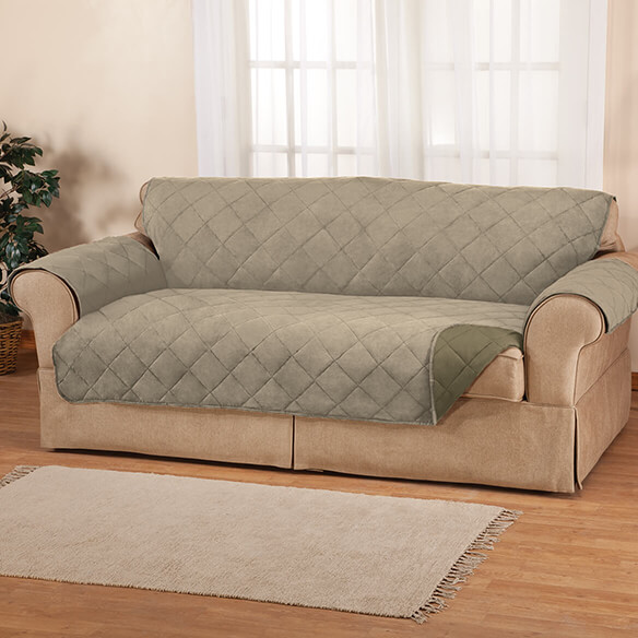 Naomi Suede-Microfiber XL Sofa Cover by OakRidge™ - View 1