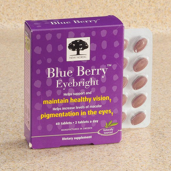 New Nordic Blue Berry™ Eyebright Tablets