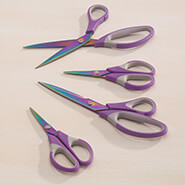 Hobbies & Books - Purple S/4 Titanium Scissors