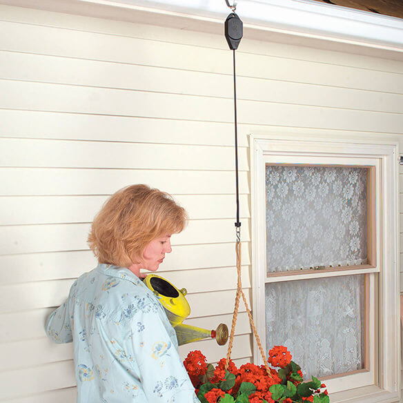 Pull-a-Plant™ Basket Hanger, Set of 3 - View 1