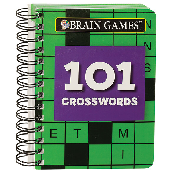 Brain Games¨ Mini 101 Crosswords