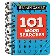 Brain Health - Brain Games¨ Mini 101 Word Searches