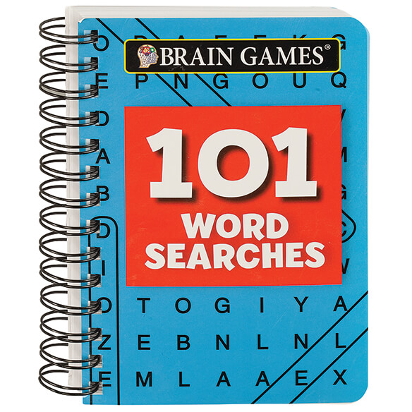 Brain Games¨ Mini 101 Word Searches