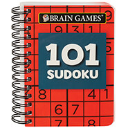 Brain Health - Brain Games¨ Mini 101 Sudoku