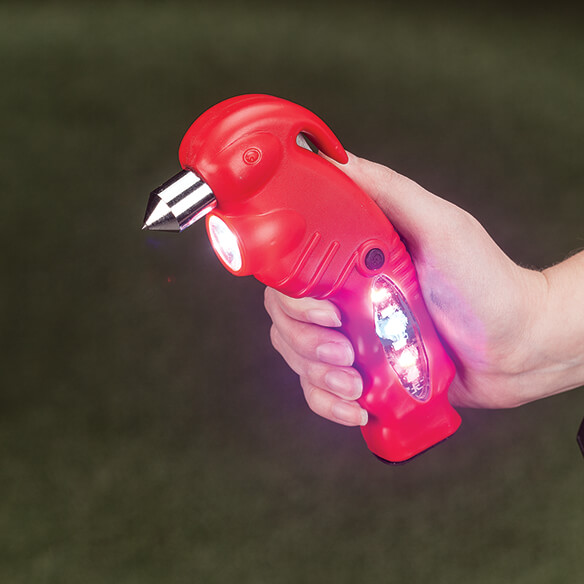 Multi-Function Emergency Flashlight Tool by LivingSURE™