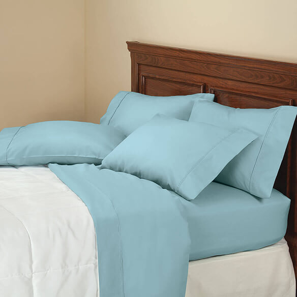 6-Piece 850 Thread Count Cotton Rich Twill Sheet Set - View 1
