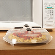 Microwave Cooking - Hanging Microwave Cover