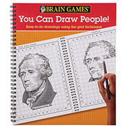 Brain Health - Brain Games® You Can Draw People!