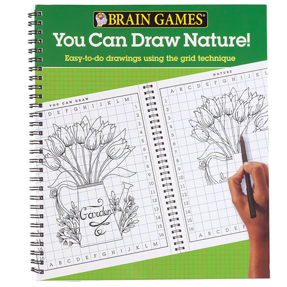 Brain Games® You Can Draw Nature! - View 1