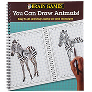 Brain Health - Brain Games® You Can Draw Animals!