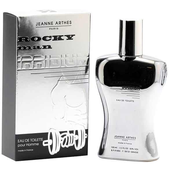 Jeanne Arthes Rocky Man Irridium, EDT Spray 3.3oz