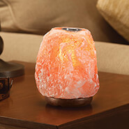 Breathe Easy - Healthful™ Naturals Himalayan Salt Lamp Diffuser