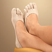 Foot Care - Comfy Gel Heel Toe Socks