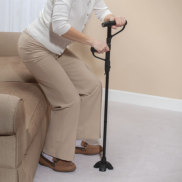 Magic Cane Get Up And Go Cane Folding Cane Easy Comforts