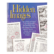 Hobbies & Books - Hidden Images Puzzle Book