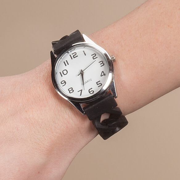 Watch with Silicone Band