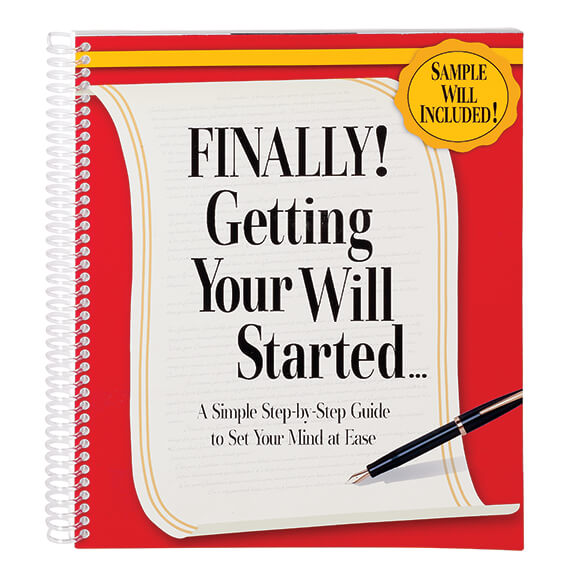 Finally! Getting Your Will Started