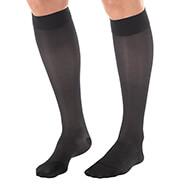 Proudly Made in the U.S.A. - Silver Steps™ Sheer Compression Knee Highs, 15–20 mmHg