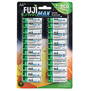 New - Fuji Super Alkaline AA Batteries, 24-Pack