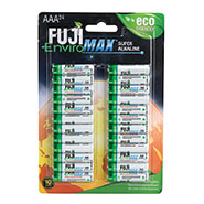 New - Fuji Super Alkaline AAA Batteries, 24-Pack