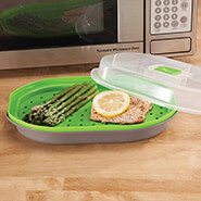 Microwave Cooking - Prep Solutions Microwave Steamer