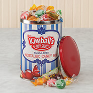 Sweets & Treats - Sugar-Free Nostalgic Candy Tin by Mrs. Kimball's Candy Shoppe™