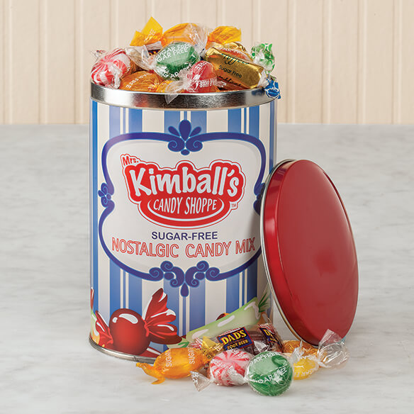 Sugar-Free Nostalgic Candy Tin by Mrs. Kimball's Candy Shoppe™