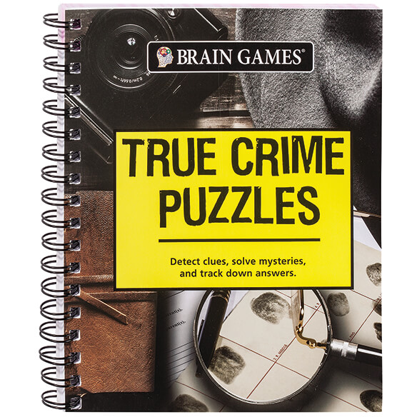 Brain Games® True Crimes Puzzle Book