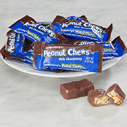 Sweets & Treats - Goldenberg's® Milk Chocolatey Peanut Chews, Mini Bars