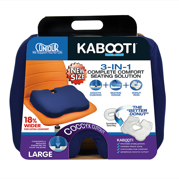 Kabooti Large Coccyx Foam Seat Cushion - View 1