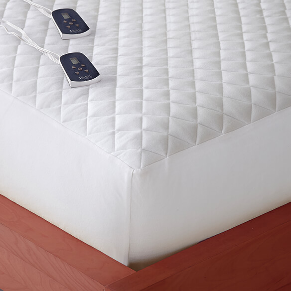 Micro Flannel® Heated Electric Mattress Pad