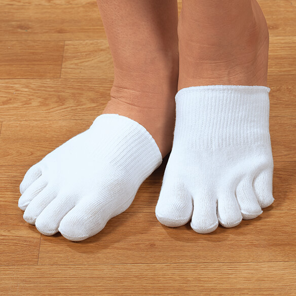 Silver Steps™ Closed Toe Gel Socks