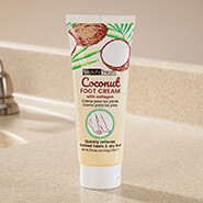 Skin Care - Coconut Foot Cream with Collagen