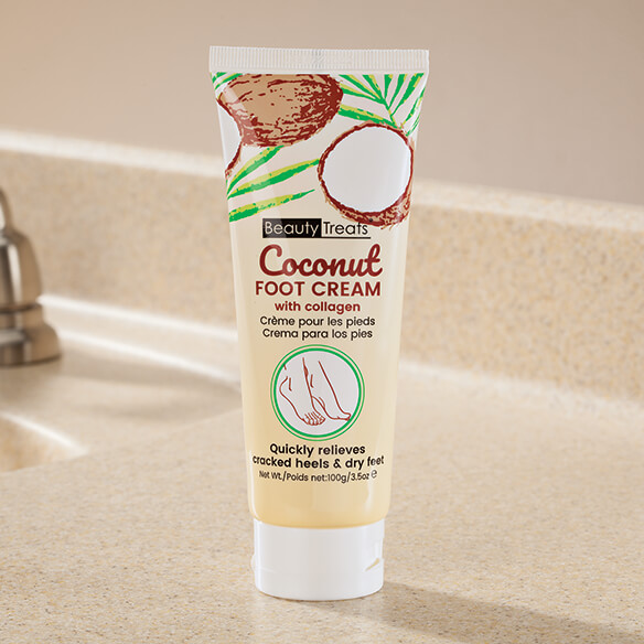 Coconut Foot Cream with Collagen