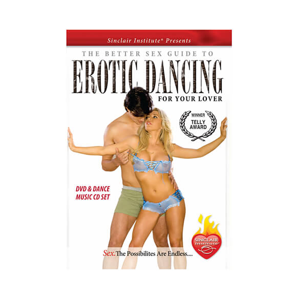 Sizzle! Erotic Dancing DVD