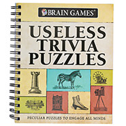 Hobbies & Books - Brain Games® Useless Trivia Puzzles
