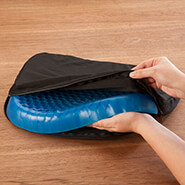 Cushions & Chair Pads - Honeycomb Gel Seat Cushion with Cover by LivingSURE™
