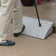 Wheelchairs & Accessories - Curb Ramp