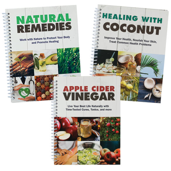 Natural Healing, 3-Book Set